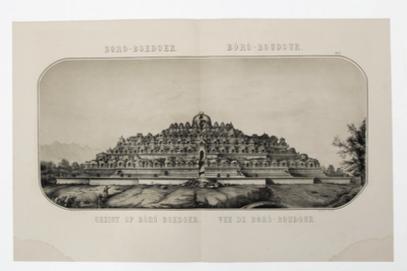Monumentaal boek over Borobudur
