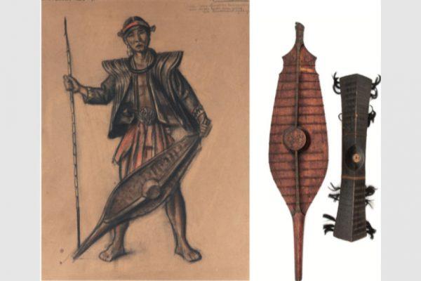 Bonnet en Kunst in Nias