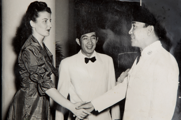 Basoeki en Soekarno