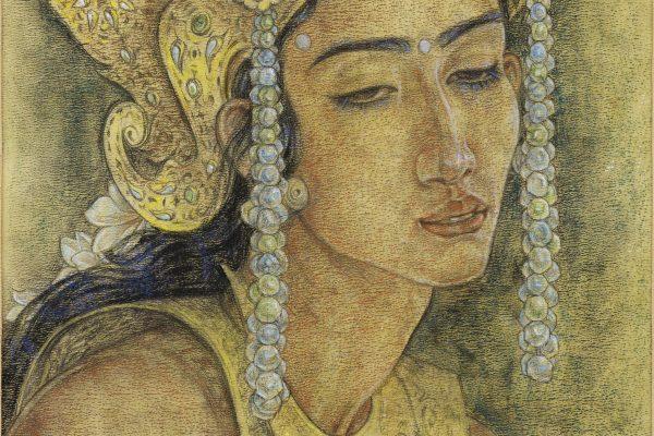 Devi Sita by Rudolf Bonnet (1895 – 1978)