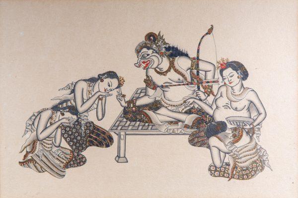 The Legend of King Bedahulu I Goesti Njoman Lempad (c. 1862 – 1978)